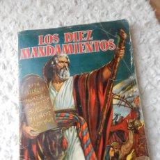 Coleccionismo Álbum: ALBUM DE CROMOS LOS DIEZ MANDAMIENTOS. Lote 44335520