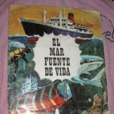 Coleccionismo Álbum: ALBUM EL MAR FUENTE DE VIDA,RUIZ ROMERO COMPLETO. Lote 44336095