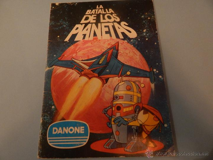 LA BATALLA DE LOS PLANETAS DE DANONE (Coleccionismo - Cromos y Álbumes - Álbumes Completos)