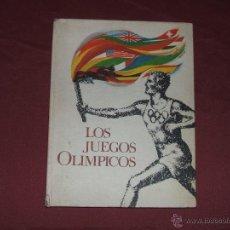 Coleccionismo Álbum: ÁLBUM CROMOS LOS JUEGOS OLÍMPICOS NESTLÉ COMPLETO. Lote 44637962