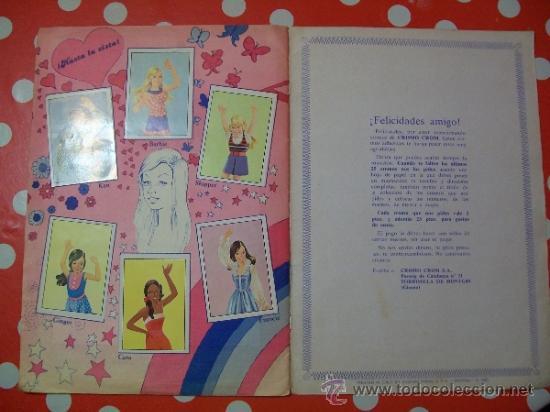 Coleccionismo Álbum: BARBIE PARADE 1982 Álbum Completo - Foto 3 - 44692136