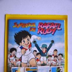 Coleccionismo Álbum: ALBUM DE CROMOS SUPERGOL DE RAFAEL RUDY + CROMOS A PEGAR [COMPLETO]. PANINI. SUPER GOL.. Lote 64025225