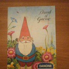 Coleccionismo Álbum: ALBUM DAVID EL GNOMO--- DANONE. Lote 44937436