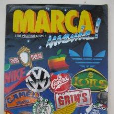 Coleccionismo Álbum: ÁLBUM DE CROMOS MARCAMANÍA - COMPLETO - EDICIONES ESTE - AÑOS 80.. Lote 45282280