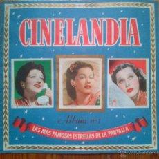 Coleccionismo Álbum: CINELANDIA, LAS ESTRELLAS DE LA PANTALLA. 135 CROMOS. COMPLETO. MUY BUEN ESTADO. AÑOS 40. Lote 45359643