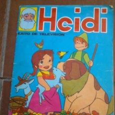 Coleccionismo Álbum: HEIDI.- EDITORIAL FHER.- AÑO 1975.- ALBUM COMPLETO DE 210 CROMOS. Lote 45457183