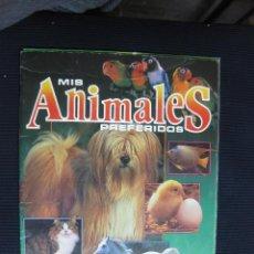 Coleccionismo Álbum: ALBUM COMPLETO DE MIS ANIMALES PREFERIDOS. PANINI.. Lote 45498564