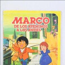 Coleccionismo Álbum: ÁLBUM DE CROMOS COMPLETO - MARCO. DE LOS APENINOS A LOS ANDES - DANONE, 1976 - CONTIENE 84 CROMOS. Lote 45575341