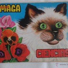 Coleccionismo Álbum: ALBUM DE CROMOS TOTALMENTE COMPLETO CIENCIAS ( MAGA ). Lote 45615025