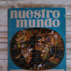 Coleccionismo Álbum: ÁLBUM COMPLETO NUESTRO MUNDO.. Lote 45671987