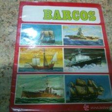 Coleccionismo Álbum: ALBUM DE CROMOS BARCOS EDICIONES SUSAETA AÑO 1971 COMPLETO.. Lote 45728194