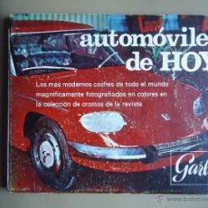 Coleccionismo Álbum: ALBUM ÁLBUM AUTOMÓVILES DE HOY GARBO COMPLETO. Lote 45793699
