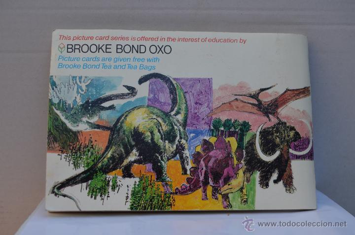 Coleccionismo Álbum: ALBUM DE CROMOS INGLES ( PREHISTORIC ANIMALS ) COMPLETO - Foto 2 - 45981342