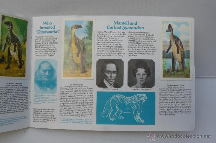 Coleccionismo Álbum: ALBUM DE CROMOS INGLES ( PREHISTORIC ANIMALS ) COMPLETO - Foto 4 - 45981342