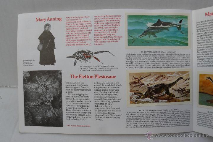 Coleccionismo Álbum: ALBUM DE CROMOS INGLES ( PREHISTORIC ANIMALS ) COMPLETO - Foto 5 - 45981342