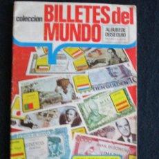 Coleccionismo Álbum: BILLETES DEL MUNDO ESTE. Lote 46031940