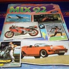 Coleccionismo Álbum: MIX 92 COMPLETO 216 CROMOS. CROMOS ROS.. Lote 46033631