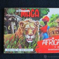 Coleccionismo Álbum: AFRICA MAGA COMPLETO. Lote 46068781
