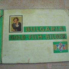 Coleccionismo Álbum: ALBUM COMPLETO,BULGARIA, GOLD - FILM - BILDER,1932. 174 CROMOS. Lote 46193807