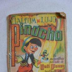 Coleccionismo Álbum: ALBUM DE CROMOS COMPLETO ALBUM DE LUJO PINOCHO. Lote 46216359