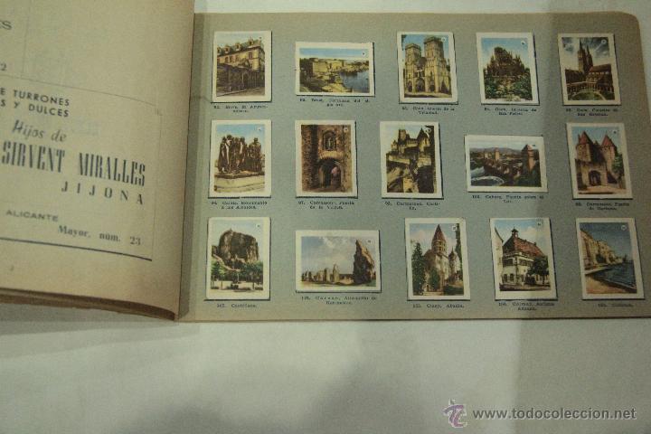 TOMBOLA ALICANTINA DE CARIDAD - VISTAS DE FRANCIA - ALBUM COMPLETO. PORTADA ESTROPEADA. (Coleccionismo - Cromos y Álbumes - Álbumes Completos)