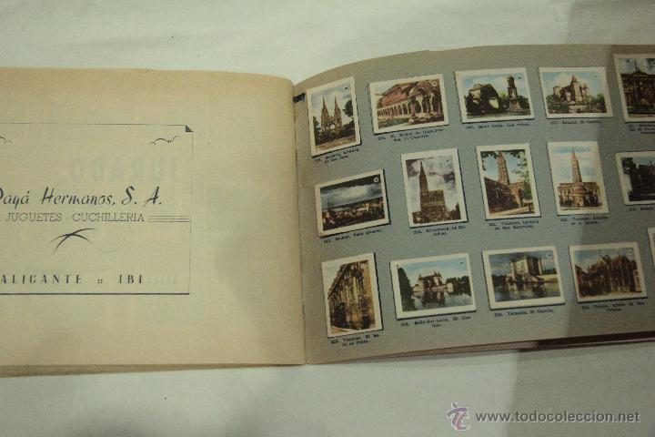 Coleccionismo Álbum: TOMBOLA ALICANTINA DE CARIDAD - Vistas de Francia - Album Completo. PORTADA ESTROPEADA. - Foto 5 - 46244822