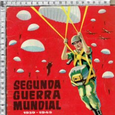 Coleccionismo Álbum: ALBUM CHOCOLATES TORRAS-SEGUNDA GUERRA MUNDIAL-EDICIÓN 1958.. Lote 46298704