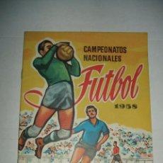 Coleccionismo Álbum: ALBUM CAMPEONATO DE LIGA 1958 DE EDITORIAL RUIZ ROMERO EN PLANCHA. Lote 46394211