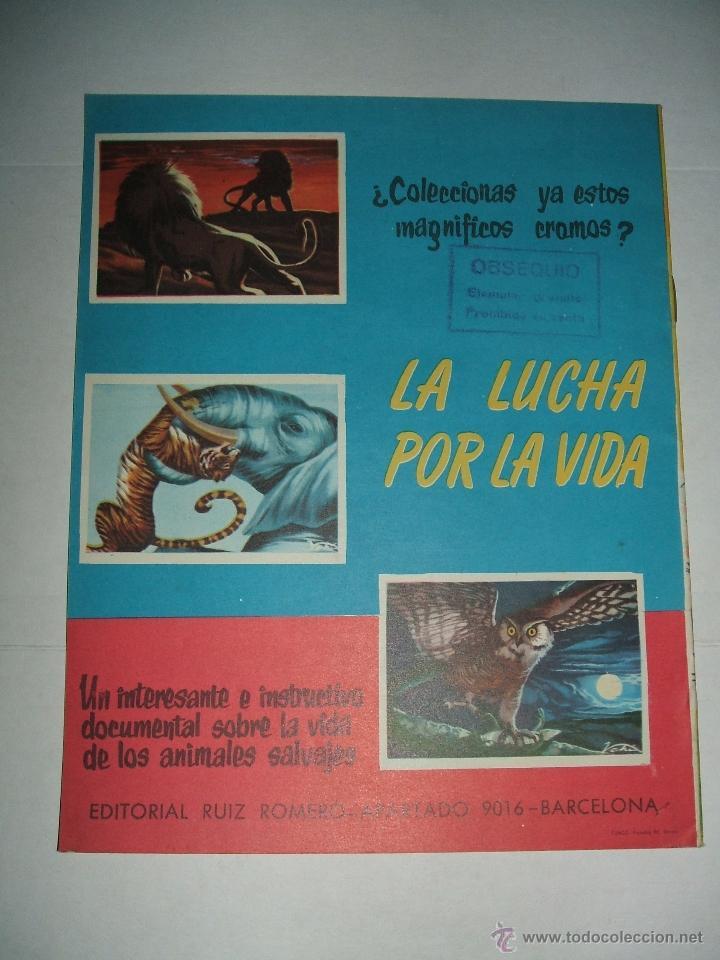 Coleccionismo Álbum: ALBUM CAMPEONATO DE LIGA 1958 DE EDITORIAL RUIZ ROMERO EN PLANCHA - Foto 2 - 46394211