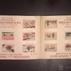 Coleccionismo Álbum: ALBUM CUADERNO CAJA DE AHORROS PROVINCIAL. Lote 46412804