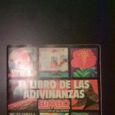 Coleccionismo Álbum: EL LIBRO DE LAS ADIVINANZAS BIMBO 266 CROMOS. Lote 46413263