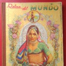 Coleccionismo Álbum: RETINA DEL MUNDO. ALBUM SALSAFRÁN, 1943. COMPLETO. Lote 46421435