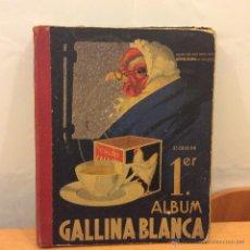 Coleccionismo Álbum: GALLINA BLANCA 1ER ALBUM COMPLETO. Lote 46479782