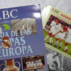 Coleccionismo Álbum: HISTORIA DE LAS 7 COPAS DE EUROPA DEL REAL MADRID ABC COMPLETO. Lote 49617333