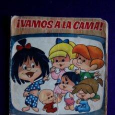 Coleccionismo Álbum: ALBUM ¡VAMOS A LA CAMA! LA FAMILIA TELERIN. COMPLETO. EDITORIAL BRUGUERA. AÑO 1965.. Lote 46617326