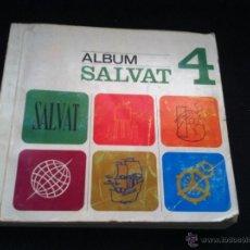 Coleccionismo Álbum: ALBUM SALVAT 4. COMPLETO. BUEN ESTADO. 169 HOJAS COMPLETAS DE CROMOS.. Lote 46629532