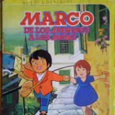 Coleccionismo Álbum: ALBUM DE CROMOS COMPLETO MARCO DE LOS APENINOS A LOS ANDES DANONE AÑOS 80. Lote 46894629