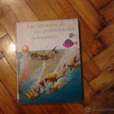 Coleccionismo Álbum: LOS MISTERIOS DE LAS PROFUNDIDADES SUBMARINAS NESTLÉ 1959. Lote 46905545