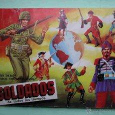 Coleccionismo Álbum: ÁLBUM DE CROMOS SOLDADOS DE TODOS LOS TIEMPOS, MAGA, COMPLETO 240 CROMOS, AÑO 1981. Lote 46953117