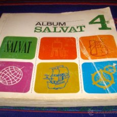 Coleccionismo Álbum: ALBUM SALVAT 4 COMPLETO. 1968. . Lote 46976032