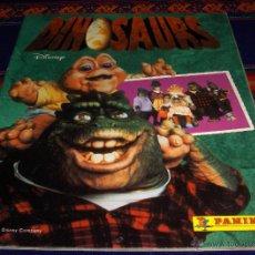 Coleccionismo Álbum: DINOSAURS COMPLETO. PANINI 1991. WALT DISNEY. BUEN ESTADO. REGALO CÓMIC DE DINOSAURS.. Lote 175035587