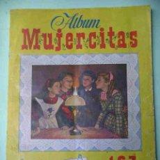 Coleccionismo Álbum: ÁLBUM DE CROMOS MUJERCITAS, ED.CLIPER, COMPLETO 167 CROMOS, AÑO 1952, ERCOM. Lote 47014094