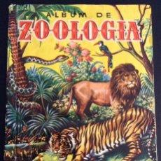 Coleccionismo Álbum: ALBUM DE CROMOS COMPLETO ZOOLOGIA EDITORIAL BRUGUERA. Lote 47067306