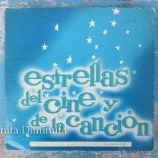 Coleccionismo Álbum: ANTIGUO Y RARO ALBUM COMPLETO - ESTRELLAS DEL CINE Y LA CANCION - CIGARRILLOS CUMBRE - 1965 - EN MUY. Lote 47134220
