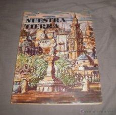 Coleccionismo Álbum: ÁLBUM DE CROMOS NUESTRA TIERRA (REGIÓN DE MURCIA). LA VERDAD Y CAM, 1981, COMPLETO. Lote 47293934