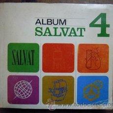 Coleccionismo Álbum: ÁLBUM SALVAT 4. COMPLETO CON 1885 CROMOS.. Lote 47328560
