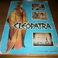 Coleccionismo Álbum: ÁLBUM DE CROMOS CLEOPATRA - AGENCIA PORTUGUESA DE REVISTAS - 1ª EDICIÓN - 1963. Lote 47400518