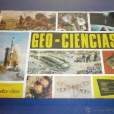 Coleccionismo Álbum: ALBUM COMPLETO GEO CIENCIAS AÑO 1967. Lote 47452694