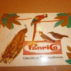 Coleccionismo Álbum: ALBUM COMPLETO DE PANRICO AVES PAJAROS. Lote 47744260