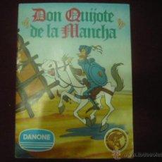 Coleccionismo Álbum: DON QUIJOTE DE LA MANCHA - DANONE - COMPLETO. Lote 135845614